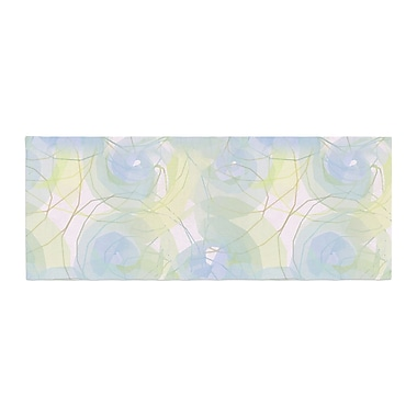 East Urban Home Alison Coxon Paper Flower Bed Runner
