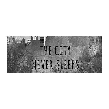 East Urban Home Alison Coxon The City Never Sleeps Bed Runner