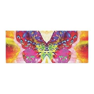 East Urban Home Anne LaBrie Butterfly Spirit Bed Runner