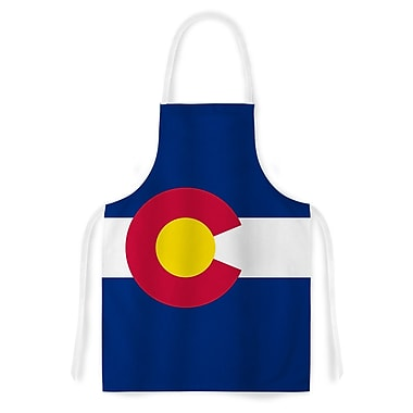 East Urban Home Bruce Stanfield Colorado State Flag Artistic Apron