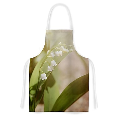 East Urban Home Angie Turner Lily of the Valley Artistic Apron