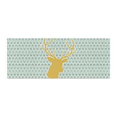 East Urban Home Pellerina Design Deer Bed Runner