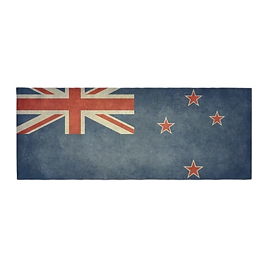 East Urban Home Bruce Stanfield Flag of New Zealand Bed Runner