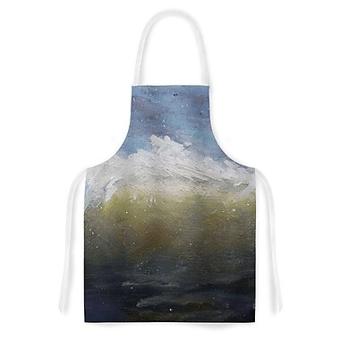 East Urban Home Carol Schiff the Curl Nautical Painting Artistic Apron