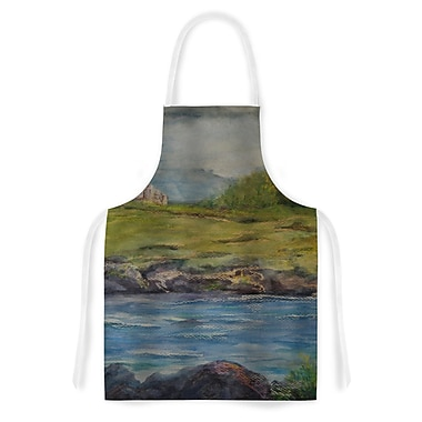 East Urban Home Cyndi Steen Castle Ruins Artistic Apron
