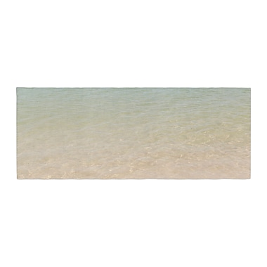 East Urban Home Catherine McDonald Ombre Sea Beach Photography Bed Runner