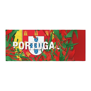 East Urban Home Danny Ivan Portugal World Cup Bed Runner
