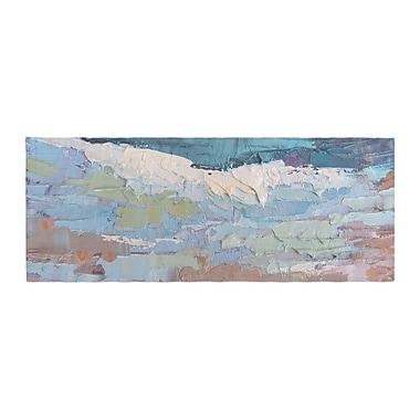 East Urban Home Carol Schiff Surf Dreams Painting Bed Runner