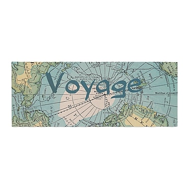 East Urban Home Catherine Holcombe Voyage Map Bed Runner