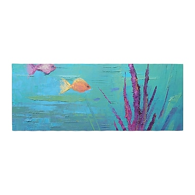 East Urban Home Carol Schiff Key Largo Reef Painting Bed Runner