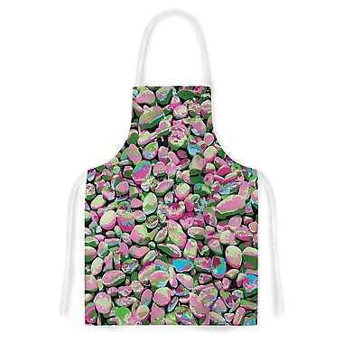 East Urban Home Empire Ruhl Rocks Spring Abstract Nature Artistic Apron