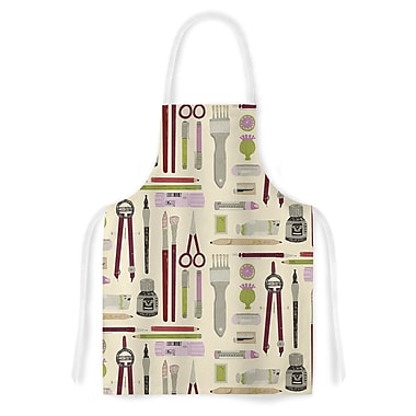 East Urban Home Judith Loske Art Supplies Pattern Artistic Apron