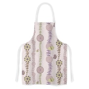 East Urban Home Judith Loske Flower Blush Pattern Artistic Apron