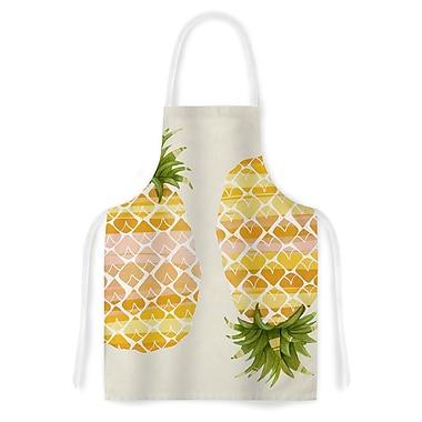 East Urban Home Judith Loske Happy Pineapples Artistic Apron