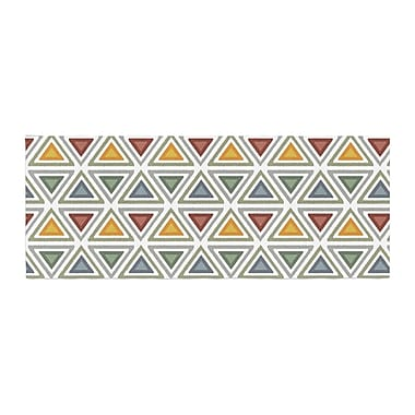 East Urban Home Julia Grifol Ikat Triangles Bed Runner