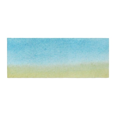 East Urban Home Jennifer Rizzo Watercolor Paint Stripe Bed Runner