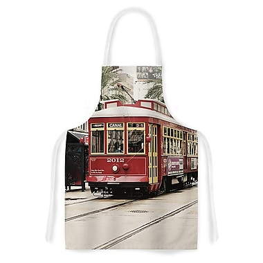 East Urban Home Sylvia Cook Canal Street Car Travel Urban Artistic Apron