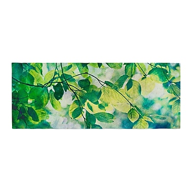 East Urban Home Sylvia Cook Leaves Bed Runner
