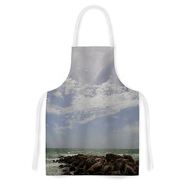 East Urban Home Rosie Brown Clouds Coastal Photography Artistic Apron