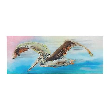 East Urban Home Josh Serafin Coast Ocean Bird Bed Runner