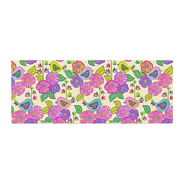 East Urban Home Julia Grifol My Birds and My Flowers Bed Runner