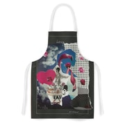 East Urban Home Jina Ninjjaga Flamingo Attack Pop Art Artistic Apron