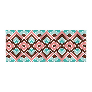 East Urban Home Pom Graphic Design Eclectic Bed Runner