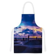 East Urban Home Juan Paolo Dog Town Artistic Apron