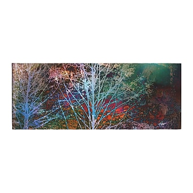 East Urban Home Sylvia Cook Trees in the Night Bed Runner