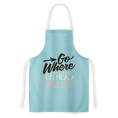 East Urban Home Juan Paolo Go Where others Will Not Vintage Artistic Apron