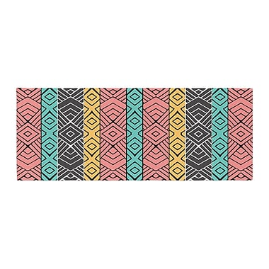 East Urban Home Pom Graphic Design Artisian Bed Runner