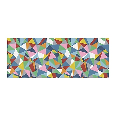 East Urban Home Project M Abstraction Abstract Bed Runner