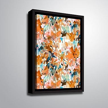 Ebern Designs 'Local Color Orange' Framed Print on Canvas; 24'' H x 18'' W x 2'' D