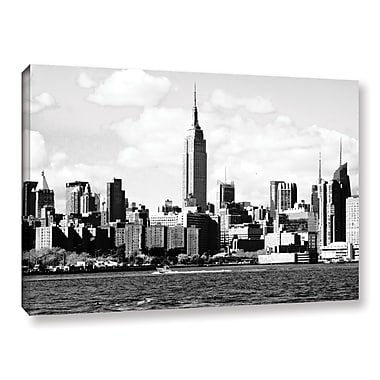 Ebern Designs '1' Photographic Print on Canvas; 32'' H x 48'' W x 2'' D