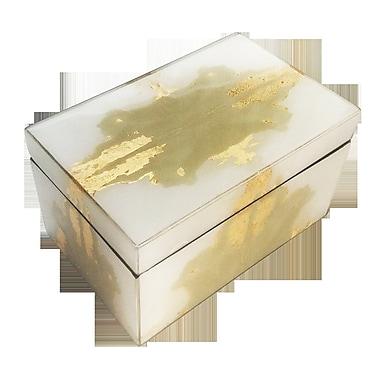 Everly Quinn Ink Blot Decorative Box