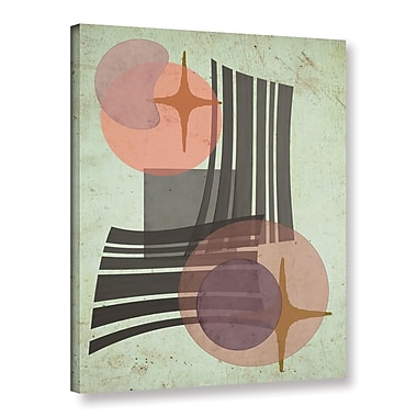 George Oliver 'Retro IV' Graphic Art Print on Canvas; 32'' H x 24'' W x 2'' D