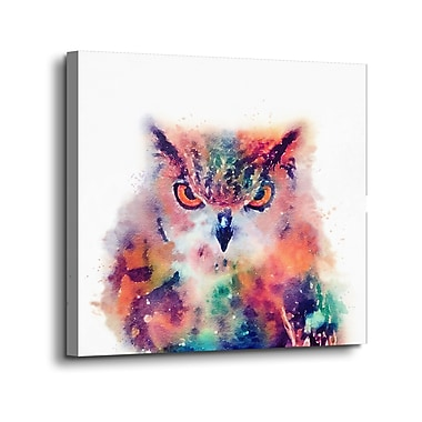 Ebern Designs 'The Wise II' Print on Canvas; 24'' H x 24'' W x 2'' D