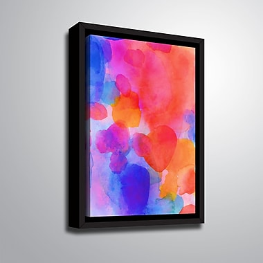 Ebern Designs 'The Sharman II' Framed Print on Canvas; 10'' H x 8'' W x 2'' D