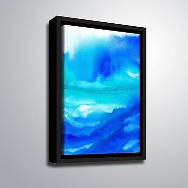 Ebern Designs 'Rise III' Framed Print on Canvas; 10'' H x 8'' W x 2'' D