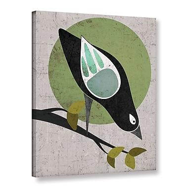 Ebern Designs 'Bird II' Graphic Art Print on Canvas; 24'' H x 18'' W x 2'' D