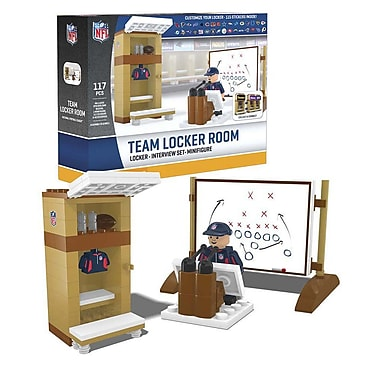 NFL Team Locker Room 117pc Building Set