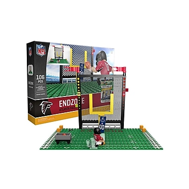 NFL – Ensemble Endzone de 106 blocs de construction, Falcons d'Atlanta