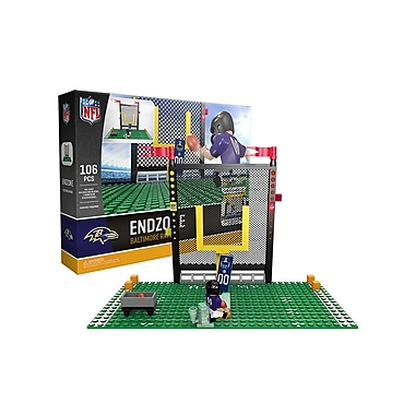 NFL – Ensemble Endzone de 106 blocs de construction, Ravens de Baltimore