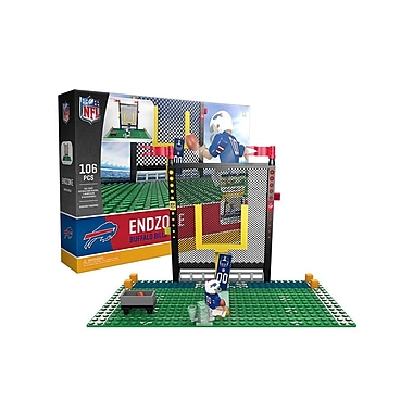 NFL Endzone Set: Buffalo Bills 106pc Building Block Set