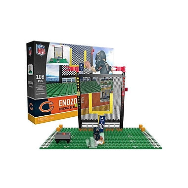 NFL – Ensemble Endzone de 106 blocs de construction, Bears de Chicago