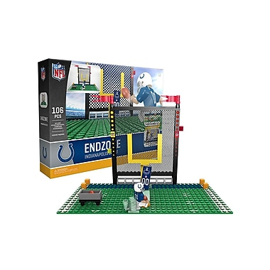 NFL Endzone Set: Indianapolis Colts 106pc Building Block Set