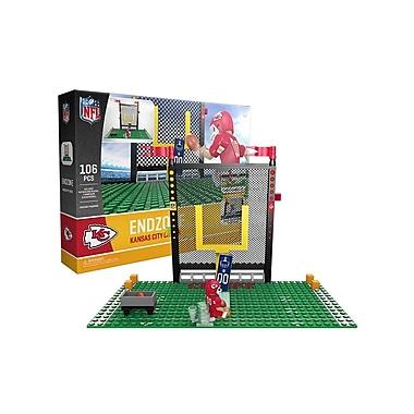 NFL – Ensemble Endzone de 106 blocs de construction, Chiefs de Kansas City