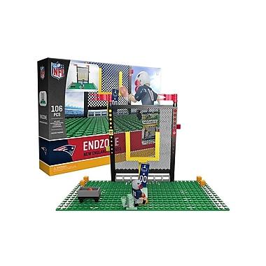 NFL Endzone Set: New England Patriots 106pc Building Block Set