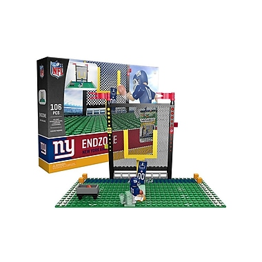 NFL Endzone Set: New York Giants 106pc Building Block Set