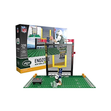 NFL Endzone Set: New York Jets 106pc Building Block Set